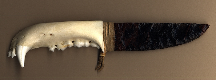 bear jaw knife